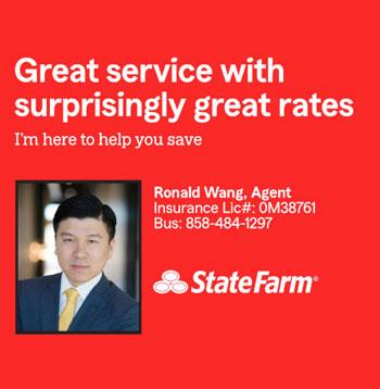 Ronald Wang Agent - State Farm